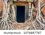 most south sanctuary prasat...   Shutterstock . vector #1076887787