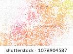 dark blue vector blurry... | Shutterstock .eps vector #1076904587