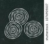 black chalk board. ripe beet  ... | Shutterstock .eps vector #1076905037