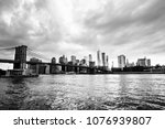 new york  usa. view of... | Shutterstock . vector #1076939807