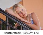 portrait of the teenage girl | Shutterstock . vector #107694173