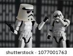 dec 12 2017  humorous image of... | Shutterstock . vector #1077001763