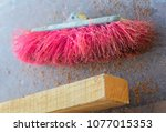 tools of a craftsman to grind... | Shutterstock . vector #1077015353
