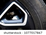 scratches at alloy wheels | Shutterstock . vector #1077017867