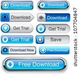 Download Web Blue Buttons For...