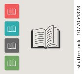 books   vector icon. symbol for ...