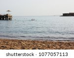 sea and beach | Shutterstock . vector #1077057113