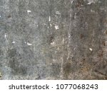 grunge grey texture and... | Shutterstock . vector #1077068243