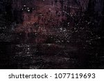metal texture with scratches...   Shutterstock . vector #1077119693