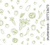 vegetables background   Shutterstock .eps vector #107713673