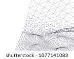 architectural drawing 3d  | Shutterstock .eps vector #1077141083
