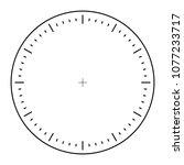 clock face precise pointer... | Shutterstock .eps vector #1077233717