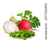 fresh  nutritious  tasty red...   Shutterstock .eps vector #1077326393