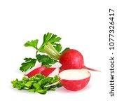 fresh  nutritious  tasty red...   Shutterstock .eps vector #1077326417