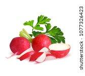 fresh  nutritious  tasty red...   Shutterstock .eps vector #1077326423