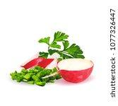 fresh  nutritious  tasty red...   Shutterstock .eps vector #1077326447
