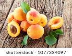 Ripe Apricots And Apricot...