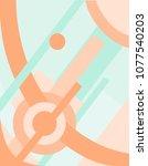 abstract suprematism... | Shutterstock .eps vector #1077540203