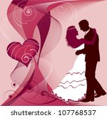 wedding  and love | Shutterstock .eps vector #107768537