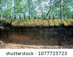 most south sanctuary prasat...   Shutterstock . vector #1077725723