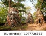 most south sanctuary prasat...   Shutterstock . vector #1077726983