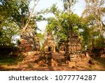 most south sanctuary prasat...   Shutterstock . vector #1077774287