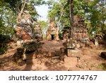 most south sanctuary prasat...   Shutterstock . vector #1077774767