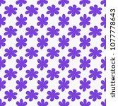 flower background. floral...   Shutterstock .eps vector #1077778643