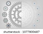 mechanical gear background