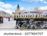 krakow  poland   august 27 ... | Shutterstock . vector #1077804707