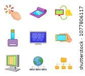 portable instrument icons set....   Shutterstock .eps vector #1077806117