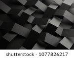 Macro image of black stripes...