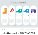 infographics design vector and  ... | Shutterstock .eps vector #1077866213