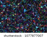 creative illustration in... | Shutterstock .eps vector #1077877007