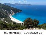 amazing landscape of myrtos... | Shutterstock . vector #1078032593