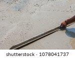 builder  fine cement floor  | Shutterstock . vector #1078041737