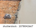builder  fine cement floor  | Shutterstock . vector #1078042667