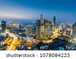 china shenzhen city luohu... | Shutterstock . vector #1078084223