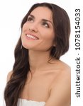 close up of brunette model... | Shutterstock . vector #1078154033