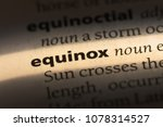 Small photo of equinox word in a dictionary. equinox concept