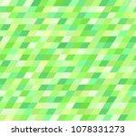 parallelogram pattern. seamless ... | Shutterstock .eps vector #1078331273