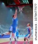 blurred background. basketball...   Shutterstock . vector #1078477577