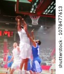 blurred background. basketball...   Shutterstock . vector #1078477613