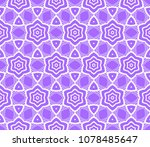 modern decorative floral lace... | Shutterstock .eps vector #1078485647