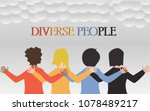 vector images for diverse... | Shutterstock .eps vector #1078489217