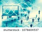 best internet concept of global ...   Shutterstock . vector #1078604537