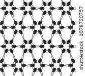 lace monochrome seamless... | Shutterstock .eps vector #1078720757