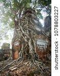 most south sanctuary prasat...   Shutterstock . vector #1078803227