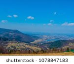 morning in the mountains. lake... | Shutterstock . vector #1078847183