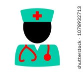doctor assistant icon | Shutterstock .eps vector #1078932713